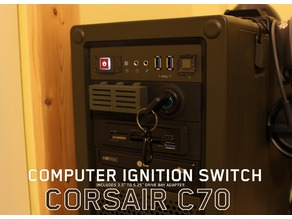 Corsair C70 Ignition Key