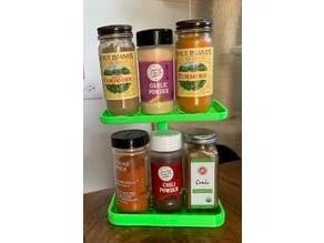 Multi Tier Spice Rack