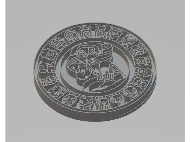 Il Calendario Maya.Calendario Maya By Paginafac Thingiverse