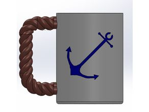 Anchor Can Holder