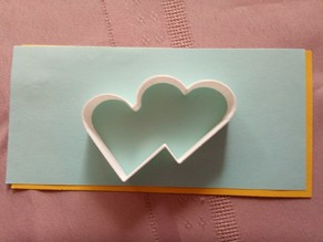 Hearts - cookie cutter
