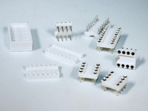 DIP/DIL Sockets (all from DIP4 to DIP28)
