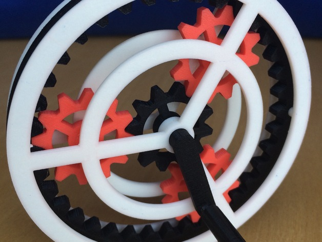 Gears Used In Toys : Planetary gear toy by ds thingiverse