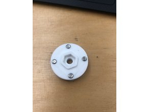 Camera Mount for ABB IRB 1200 robot arm