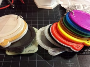 Filament Swatch, Round & Large