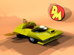 Danger Mouse Car (1981)