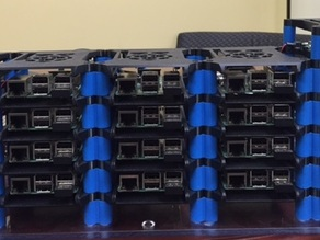 Raspberry Pi Case and Cluster Files