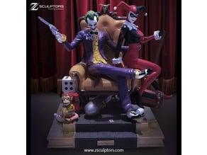 Dioram: Joker, Harley and monkey bomb