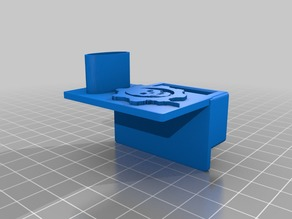 Micro SD card extension holder - Gears of War