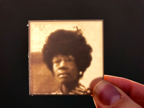 Shirley Chisholm Lithopane