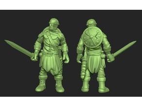 Miniature - Human Soldier 1 (2017)