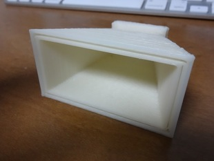 Microwave (8 to 12 GHz) horn antenna