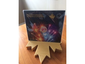 Maple Leaf Coin Stand