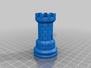Rook tower with central column