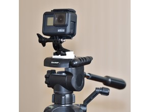 Tripod Plate with GoPro Mount
