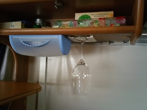 Porta bicchieri per camper/caravan -Support crystal glasses for campers/caravans