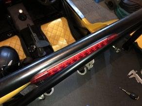 Hella 3rd Brake Light Roll-Bar Mounting Plate
