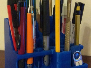 Desk Tidy for Pens, markers, rulers, and small hand tools