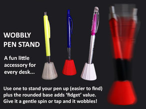 Wobbly Pen Stand