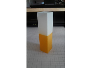 Test Cube for Filament Temperature