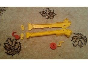 Repair car toy my son (ремонт игрушечной машинки)