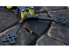 Foxeer Predator Micro 60 Degree fixed cam mount for SOURCE TWO