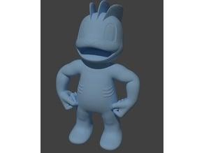 Machop Pokemon EDLI3D