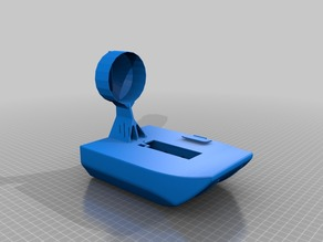 Simon's AKA RCLifeOn boat plus vectoring mechanism