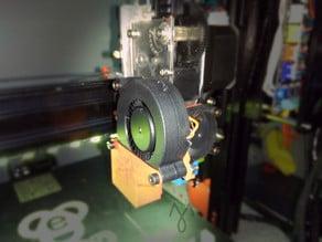 E3D Titan + V6 + 5015 cooling fan