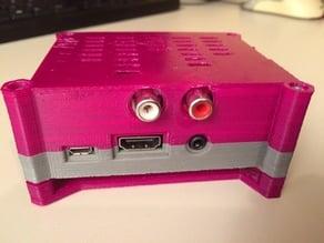 HiFiBerry DAC + Raspberry Pi2 case (RPi2, RPi B+)