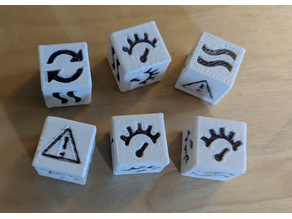 Gaslands - Dice and Tokens