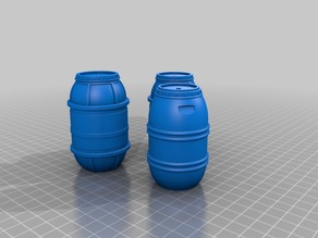 SW Cargo Container Barrels