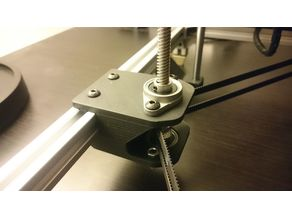 Voron Redesigned Belted lead screw drive for z axis
