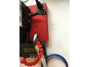 A10 - A10M (Ender 3) and generic octoprint/octopi case for raspberry, 5V power supply and relay