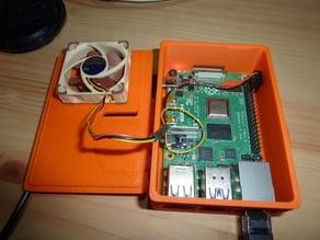 Raspberry Pi 4 case - Corrected