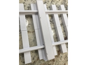 Rail / Tie alignment tool