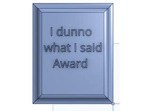 Trump's Awards 3/7