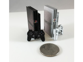 Mini Sony Playstation 2 Slim