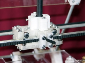 Flexy Shaft holder for MENDEL