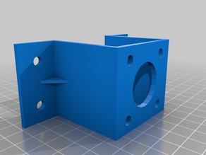 Nema 17 Stepper Mount with Coupling