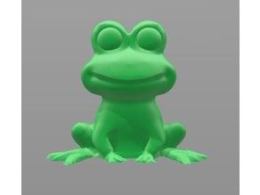 Garden Frog Pencil Topper