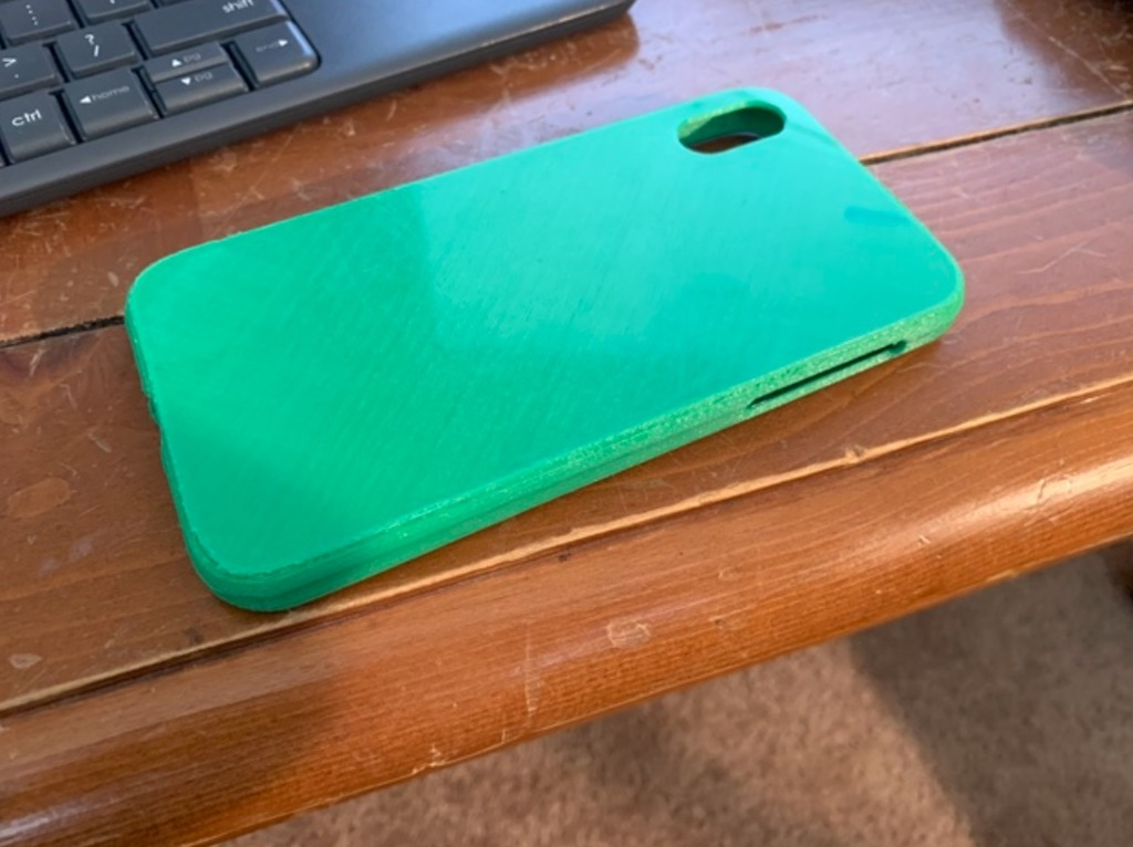 iPhone XR Flexible Case by MatthiasChristiaens - Thingiverse