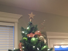 Christmas Tree Topper - Christmas Tree Star