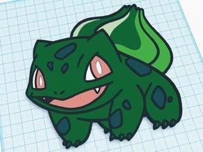 Pokemon ART - 001 - Bulbasaur (We3dUK)