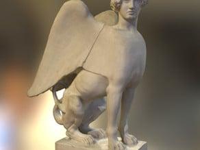 Sphinx seated