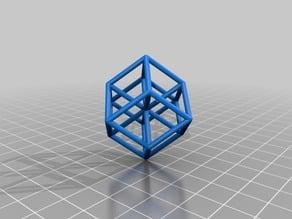 Hypercube, the isometric view