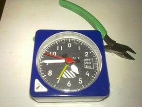 Aircraft Altimeter Style Alarm Clock Mod Kit