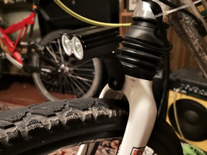 Bike fork holder