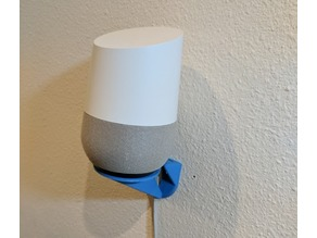 Clean and Sturdy Google Home/Alexa wall mount