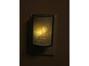 Lithophane Night Light